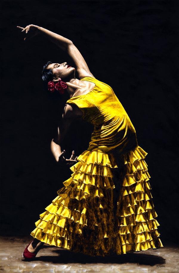 Un momento intenso del flamenco-Gabriela Gutarra